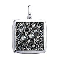 Подвеска из серебра с кристаллом Swarovski
