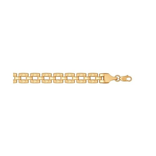 Браслет из золота с алмазной гранью (050903) - фото