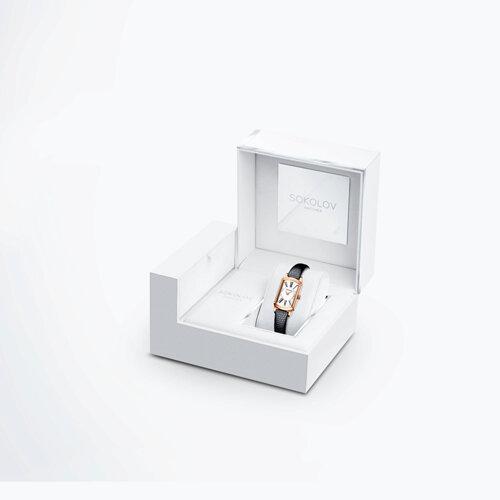 Женские золотые часы (222.01.00.100.01.01.3) - фото №4