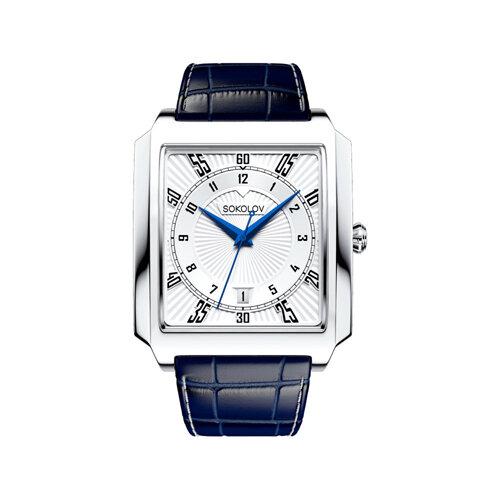 Мужские серебряные часы (134.30.00.000.08.02.3) - фото №2