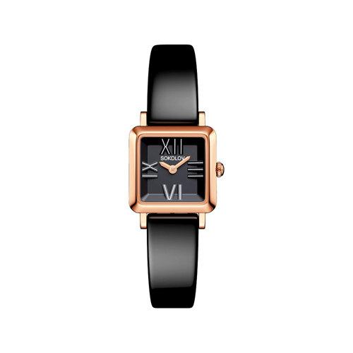 Женские золотые часы (231.01.00.000.02.04.2) - фото №2