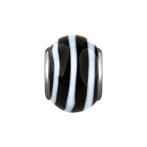 Фото - Подвеска-шарм с муранским стеклом «Зебра» SOKOLOV сапоги зебра 11130 1