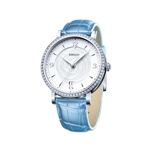 Женские серебряные часы (102.30.00.001.03.05.2) - фото