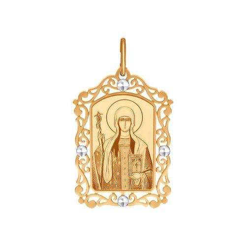 Иконка SOKOLOV из золота «Святая равноапостольная Нина» нина блазон тайна полины