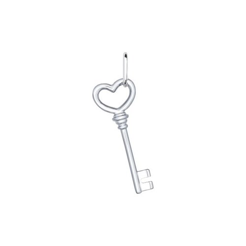 Серебряная подвеска «Ключ»