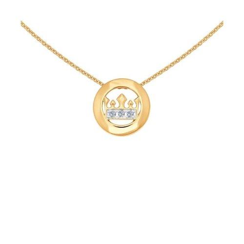 Колье из золота с бриллиантами