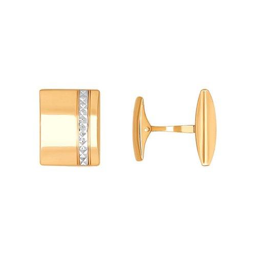 Мужские запонки с алмазной гранью