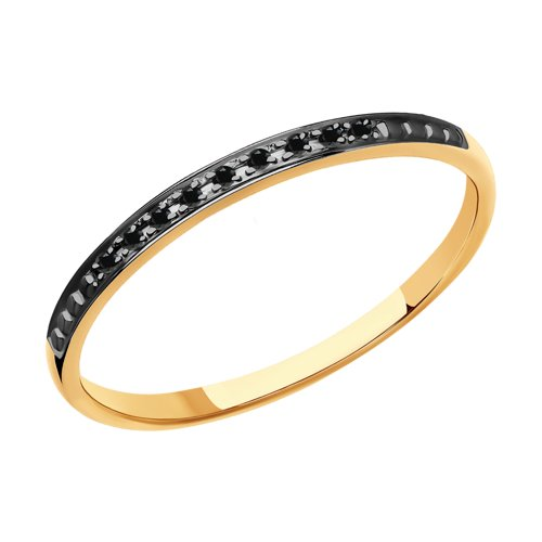 Кольцо из золота с бриллиантами 7010064 sokolov фото