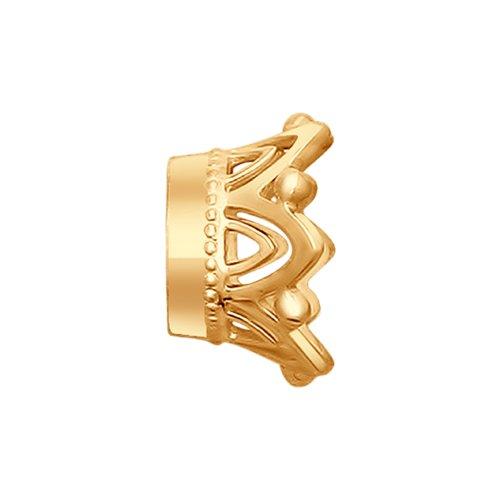Подвеска «Корона» из золота