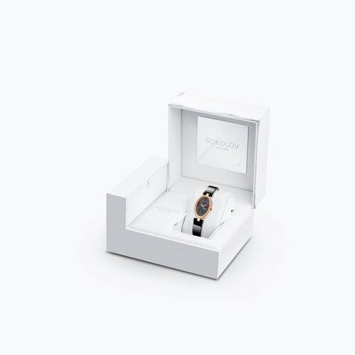 Женские золотые часы (236.01.00.100.04.04.2) - фото №2