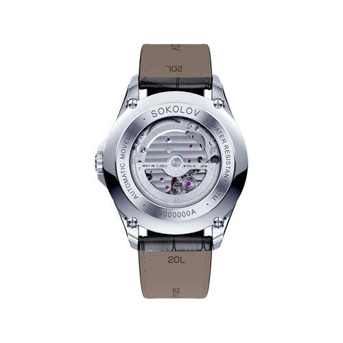 Мужские серебряные часы (150.30.00.000.04.01.3) - фото №3
