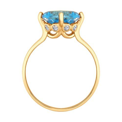 Кольцо из золота (714914) - фото №2