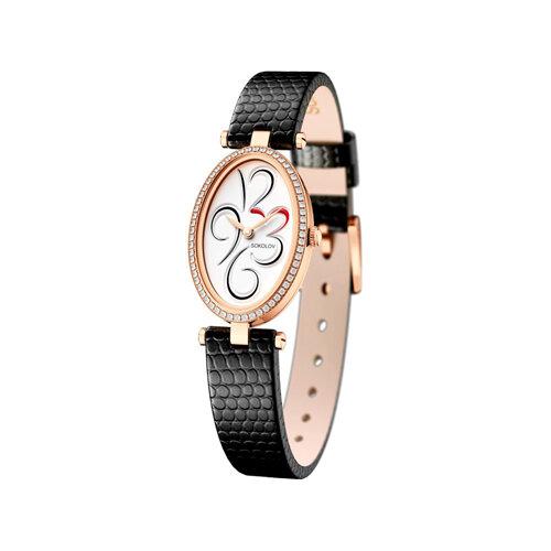 Женские золотые часы (236.01.00.100.03.01.2) - фото