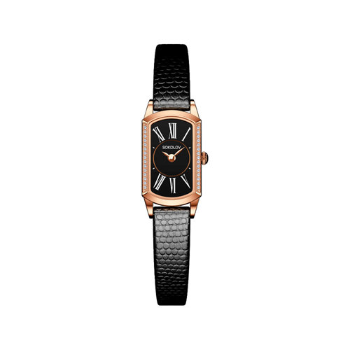 Женские золотые часы (222.01.00.001.03.01.3) - фото №2