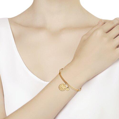Браслет из золочёного серебра (93050127) - фото №2