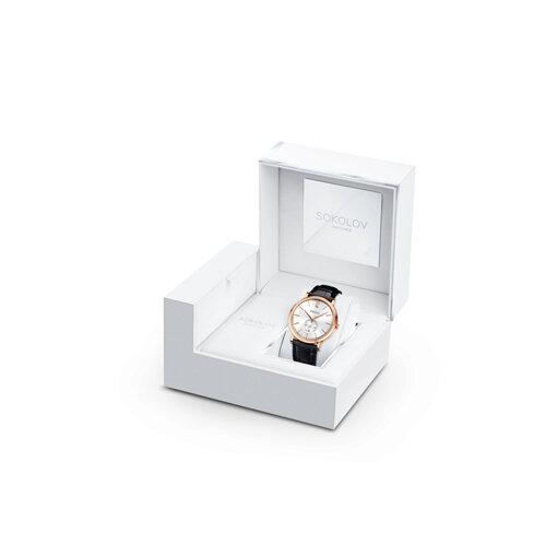 Мужские золотые часы (209.01.00.000.03.01.3) - фото №4
