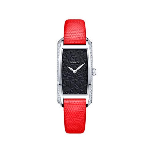 Женские серебряные часы (119.30.00.001.04.03.2) - фото №2