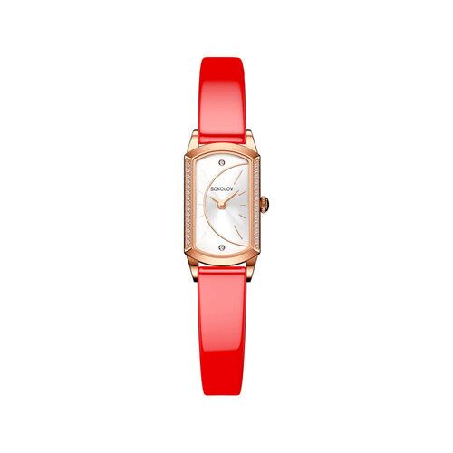 Женские золотые часы (222.01.00.001.04.07.3) - фото №2