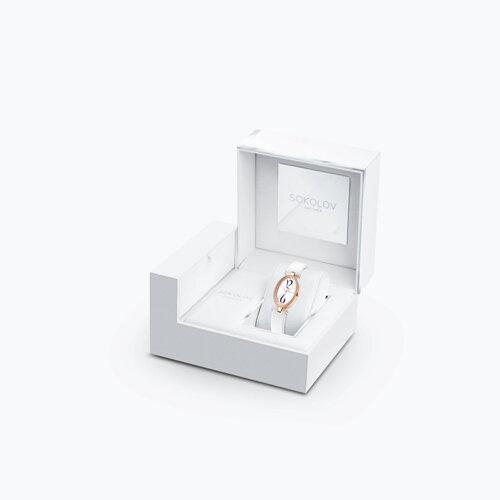 Женские золотые часы (236.01.00.100.05.02.2) - фото №4
