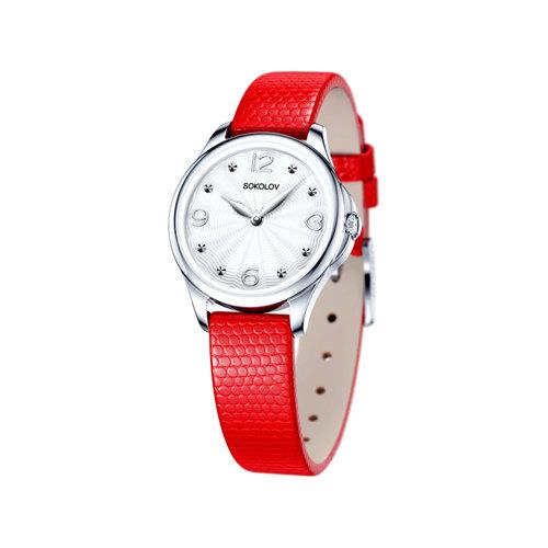 Женские серебряные часы (136.30.00.000.01.03.2) - фото