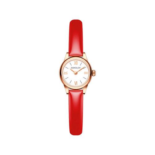 Женские золотые часы (211.01.00.000.01.07.3) - фото №2