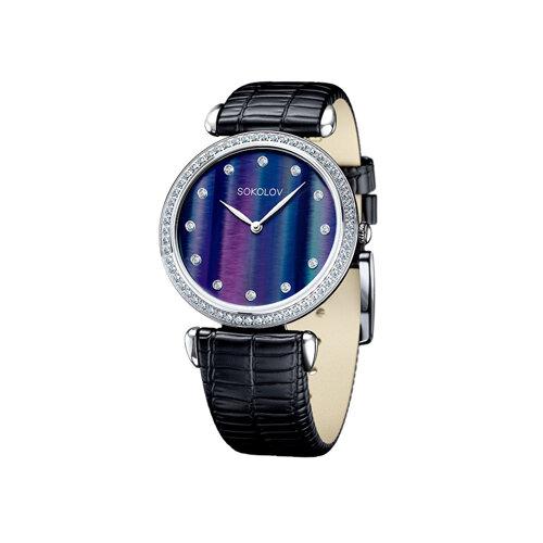 Женские серебряные часы (106.30.00.001.06.01.2) - фото