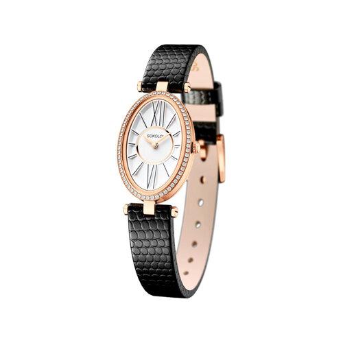 Женские золотые часы (236.01.00.100.01.01.2) - фото