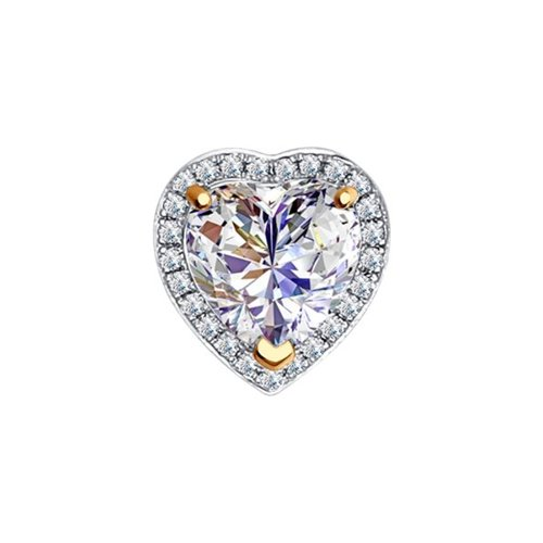 цена на Подвеска «Сердце» SOKOLOV