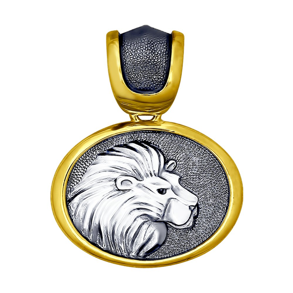 Подвеска «Знак зодиака Лев» SOKOLOV из золочённого серебра