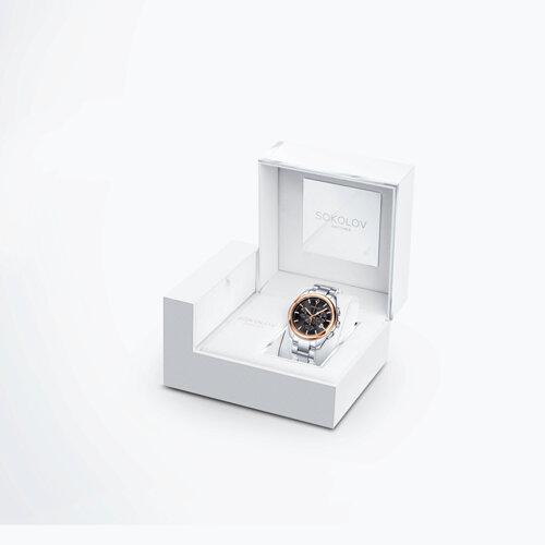 Мужские часы из золота и стали (139.01.71.000.03.01.3) - фото №4