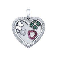 Подвеска из серебра «Сердце»