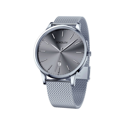 Мужские стальные часы
