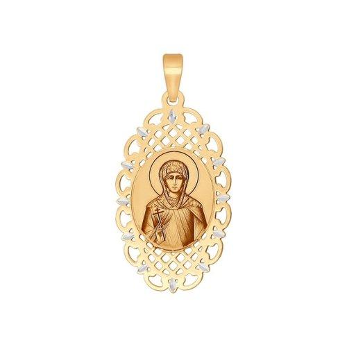 Золотая иконка «Святая великомученица Ирина» SOKOLOV ирина пустынникова черновцы