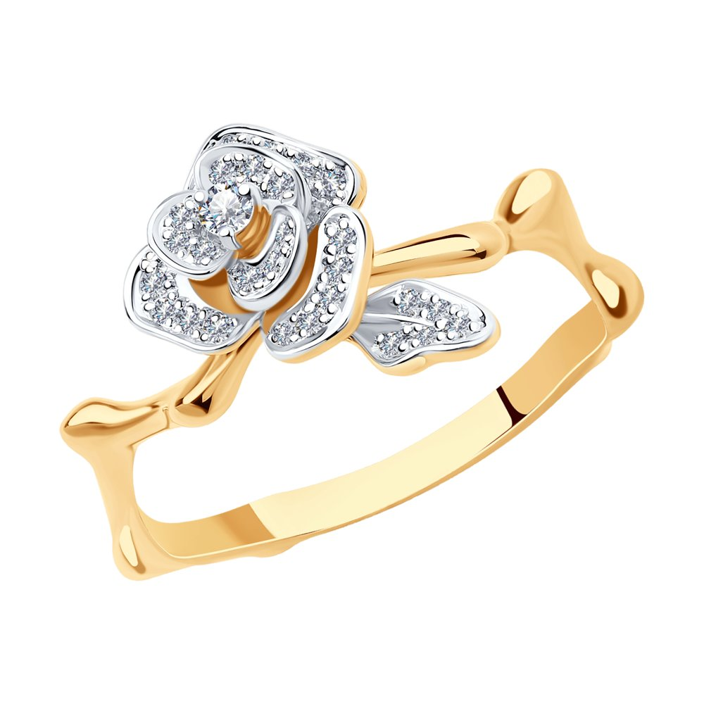 Кольцо SOKOLOV из золота с бриллиантами