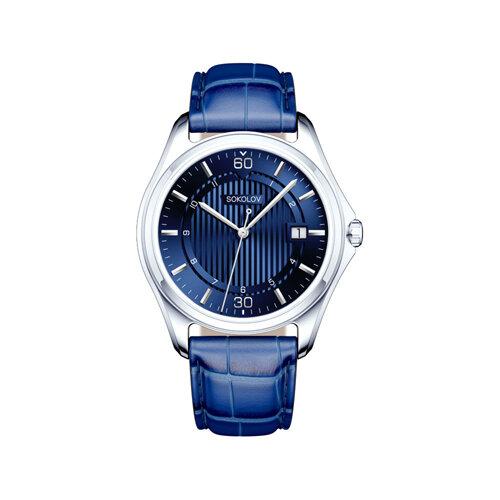 Мужские серебряные часы (135.30.00.000.07.02.3) - фото №2