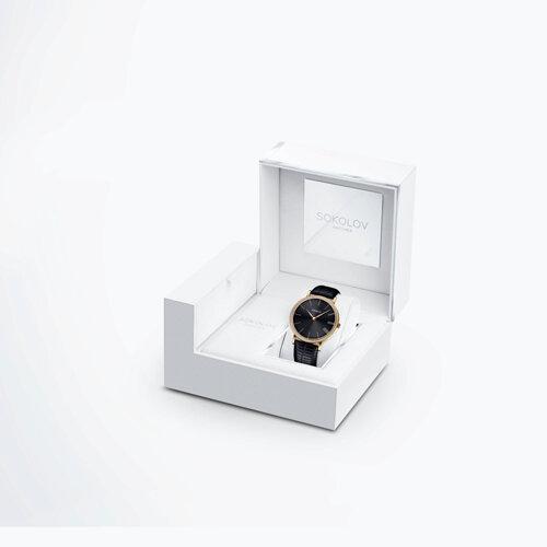 Женские золотые часы (210.02.00.001.04.01.2) - фото №4