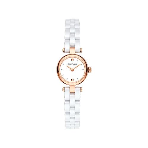 Женские золотые часы (216.01.00.000.01.01.3) - фото №2
