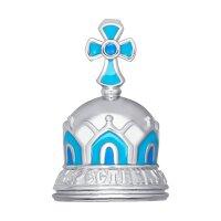 Колокольчик «Крестнику», эмаль