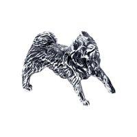 Сувенир из чернёного серебра с гравировкой
