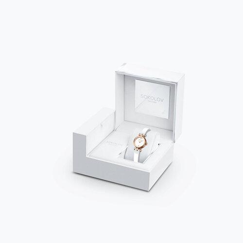 Женские золотые часы (215.01.00.000.01.06.2) - фото №4