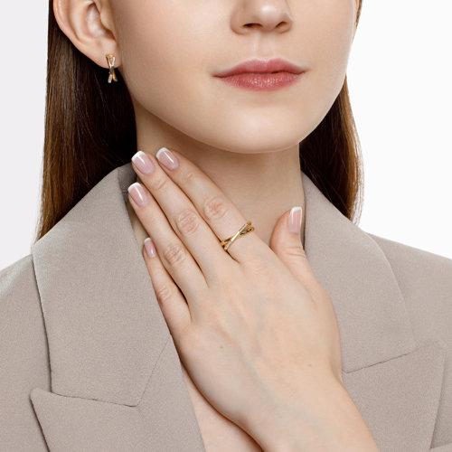 Кольцо из золота с бриллиантами (1011865) - фото №2