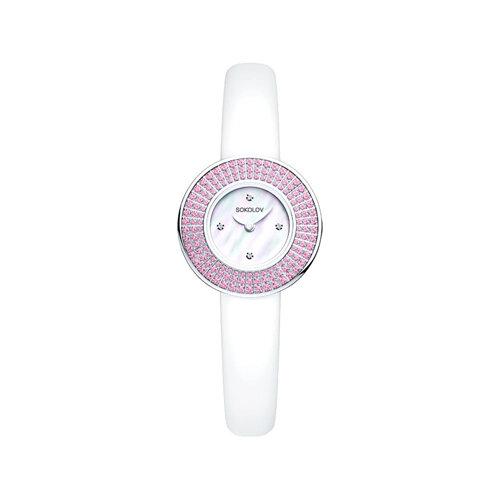 Женские серебряные часы (128.30.00.002.01.02.2) - фото №2
