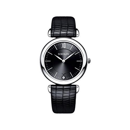 Женские серебряные часы (105.30.00.000.02.01.2) - фото №2