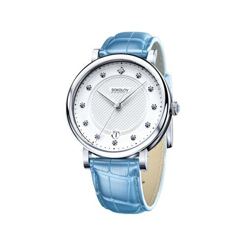 Женские серебряные часы (103.30.00.000.04.05.2) - фото