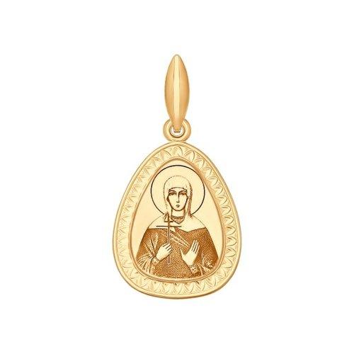 Нательная иконка «Святая мученица Галина» SOKOLOV галина нигматулина проклятый род