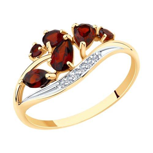 Кольцо из золота (715667) - фото