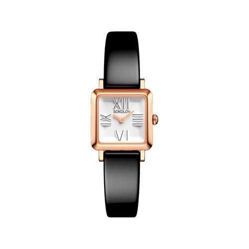 Женские золотые часы (231.01.00.000.01.04.2) - фото №2