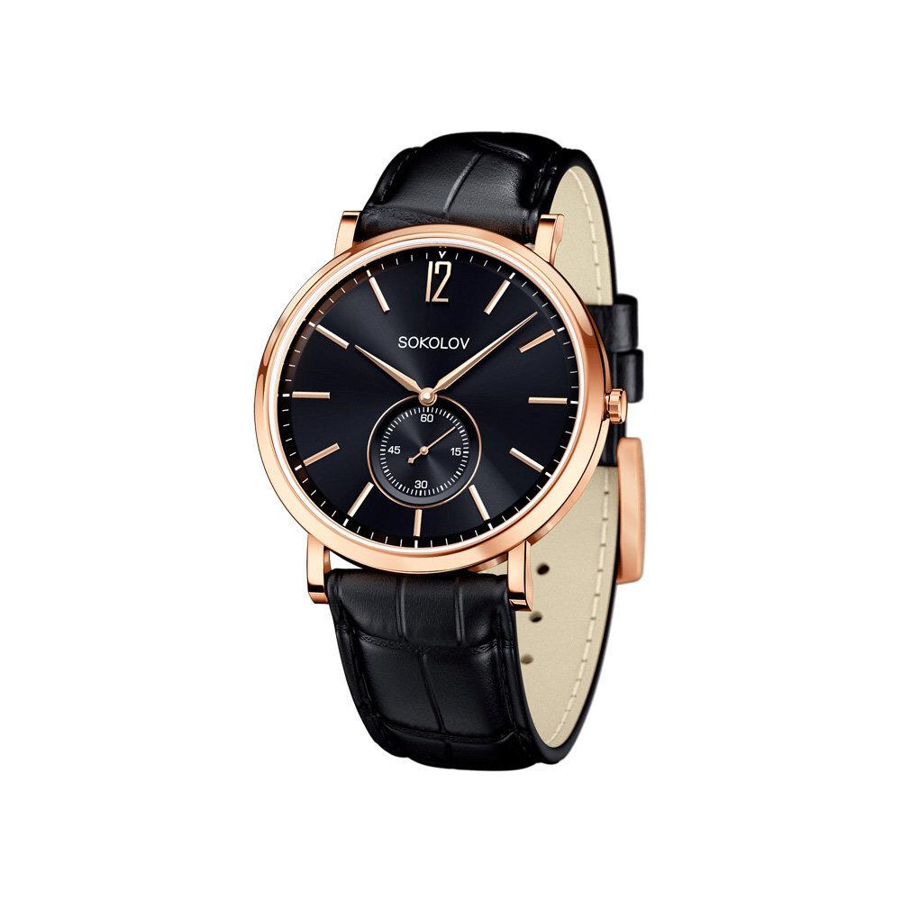 Мужские золотые часы SOKOLOV фото
