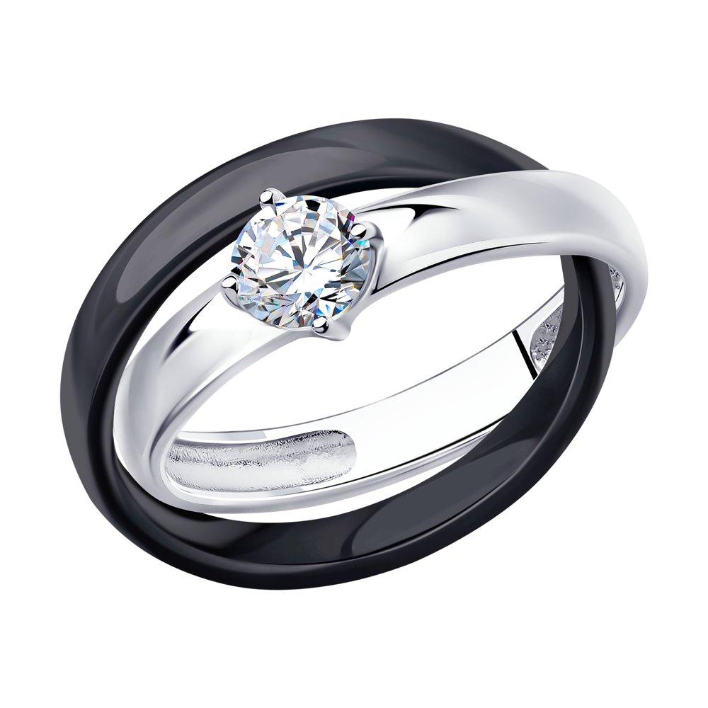 Кольцо SOKOLOV из серебра ювелирное кольцо sokolov
