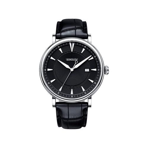 Мужские серебряные часы (101.30.00.000.05.01.3) - фото №2
